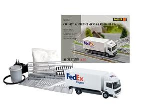 Faller 161488 Car System Start-sæt Mercedes Benz Atego FedEx