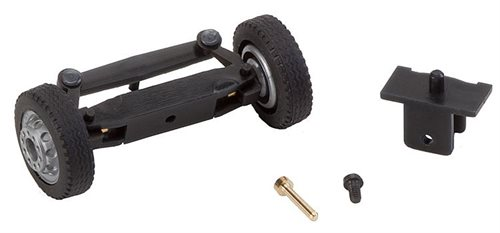 Faller 163003 Front axle, completely assembled for lorries / buses (with NQ wheels) H0