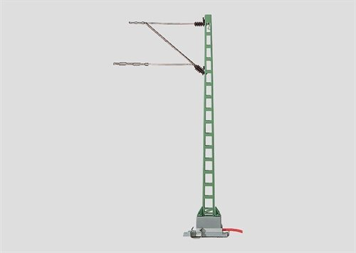 Märklin 74121 Supplerings mast til køreledninger, højde 100 mm, H0