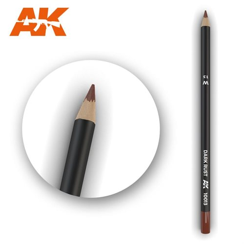 ak10013 Patineringsblyant, dark rust