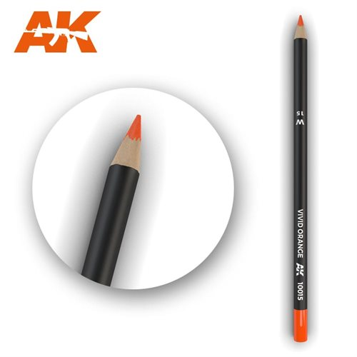ak10015 Patineringsblyant, vivid orange