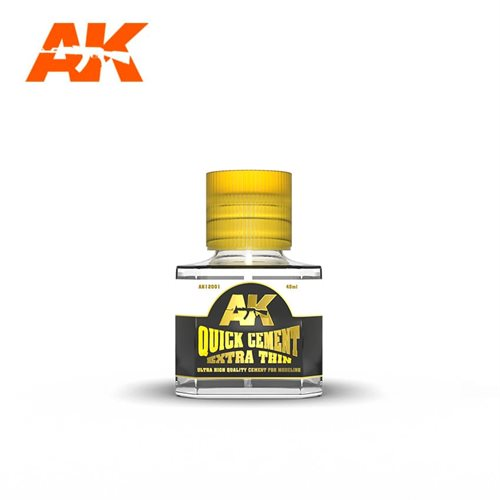 AK 12001 QUICK CEMENT EXTRA THIN, 40 ml