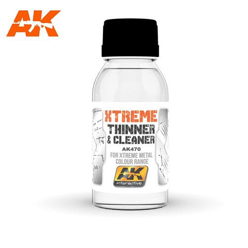 AK470 XTREME CLEANER & THINNER 100ML