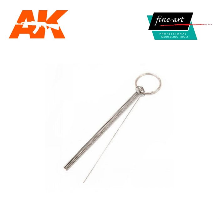 AK Interactive FA 645 AIRBRUSH CLEANING PICKS SET