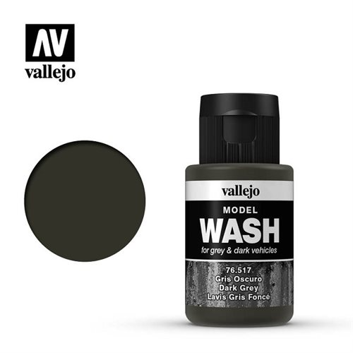 Vallejo 76517 Dark Grey Wask 35ml