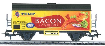 Märklin 4415-500 To-akslet godsvogn, Tulip Bacon